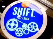 NEW BELGIUM Sign SHIFT PALE LAGER
